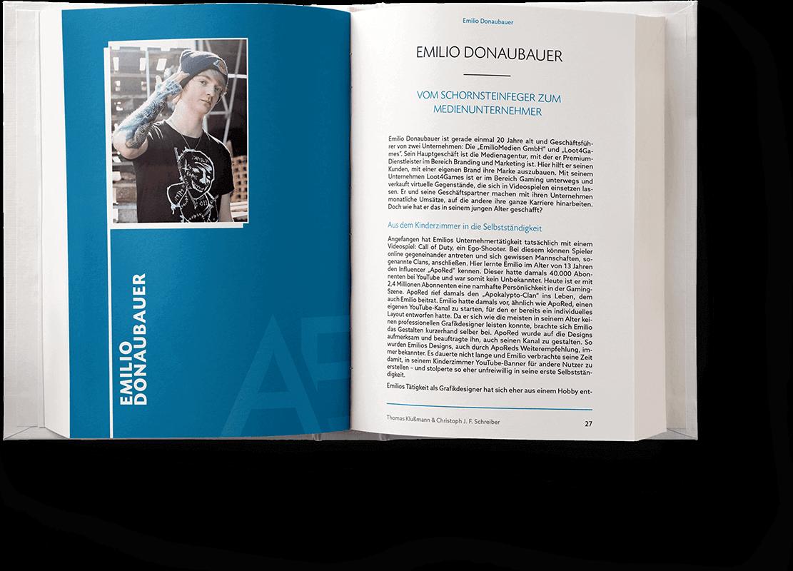 Blick ins Buch: Kapitel von Emilio Donaubauer