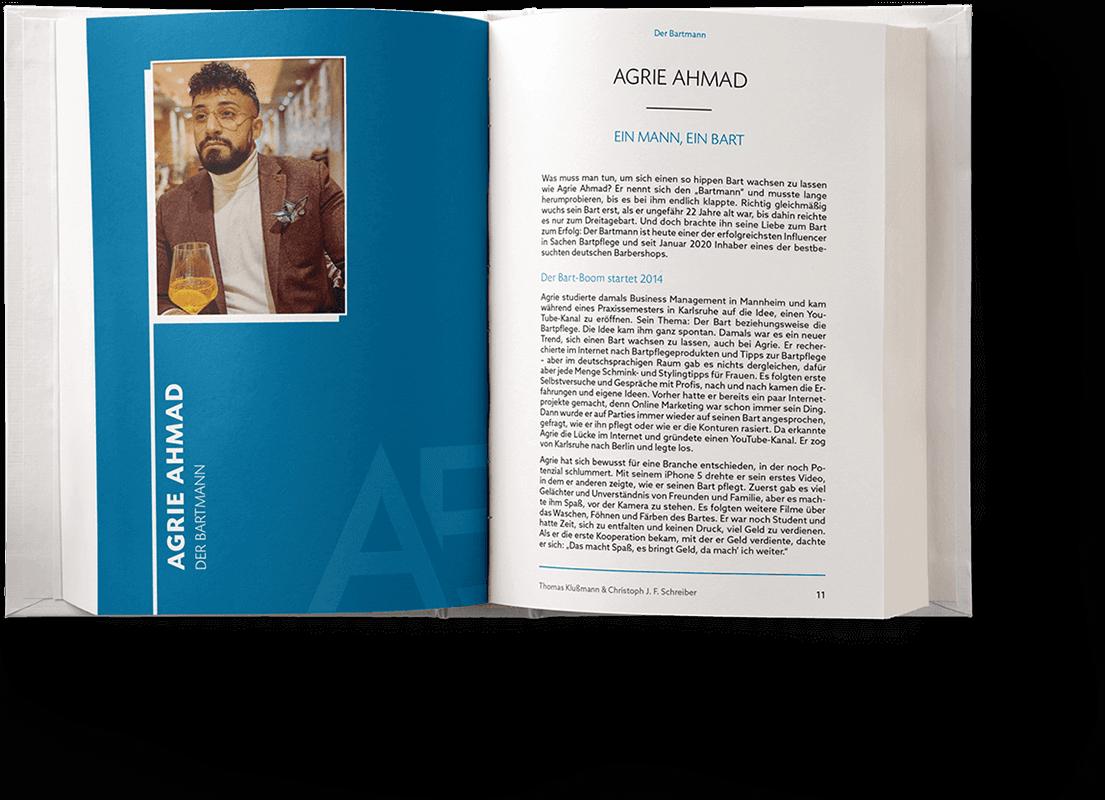 Blick ins Buch: Kapitel von Agrie Ahmad