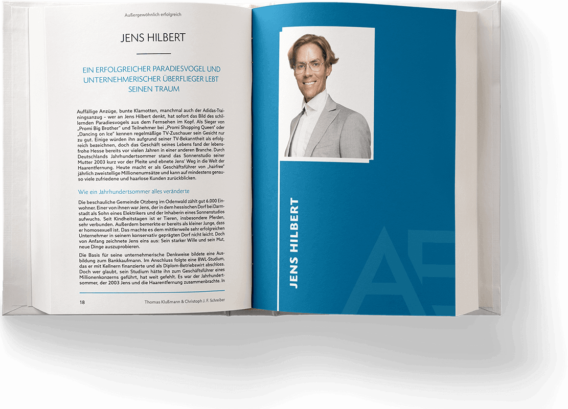 Blick ins Buch: Kapitel von Jens Hilbert
