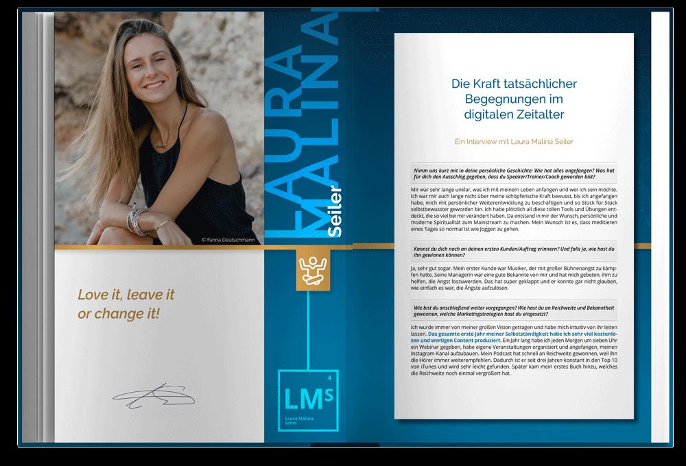 Blick ins Buch: Kapitel von Laura Malina Seiler